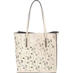 Torebki klasyczne damskie: Skórzana torebka w kolorze beżowym – (S)33 x (W)55 x (G)12 cm