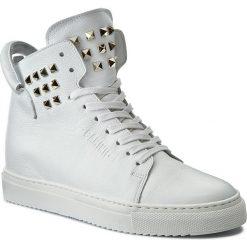 Sneakersy CARINII - B3770 I81-I81-000-B67. Białe sneakersy damskie Carinii, z materiału. W wyprzedaży za 309,00 zł.