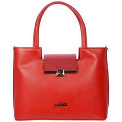 Grosso Bag Torebka Damska Czerwona. Czerwone torebki klasyczne damskie marki Grosso Bag. Za 195,00 zł.
