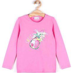 Bluzki dziewczęce bawełniane: Coccodrillo - Bluzka dziecięca 110-128 cm