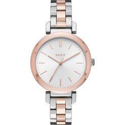Zegarek DKNY - Ellington NY2585 Silver/Rose Gold/Rose Gold. Czerwone zegarki damskie DKNY. W wyprzedaży za 549,00 zł.