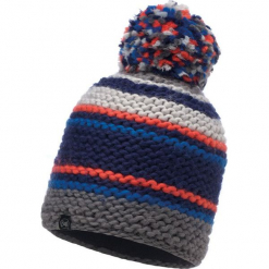 Czapka damska Knitted&Polar Dorian wielokolorowa (BH116024.752.10.00). Szare czapki zimowe damskie Buff, z polaru. Za 131,41 zł.