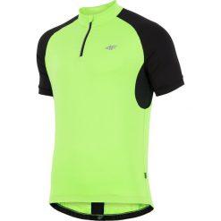 4f Koszulka rowerowa męska H4L18-RKM001 zielona r. M. Zielone odzież rowerowa męska marki 4f, l. Za 73,92 zł.