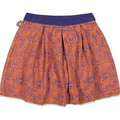 """Spódnica """"Rabbit Heart"""" w kolorze pomarańczowym. Brązowe spódniczki dziewczęce marki 4FunkyFlavours Kids, mini. W wyprzedaży za 82,95 zł."""