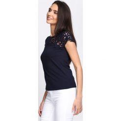 T-shirty damskie: Granatowy T-shirt Good One