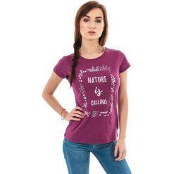 MARTES Koszulka damska Hi-Tec LADY INSIGHT fioletowa r. L. Fioletowe topy sportowe damskie marki MARTES, l. Za 37,14 zł.