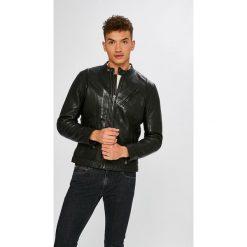 Pepe Jeans - Kurtka skórzana Culpeper. Szare kurtki męskie jeansowe Pepe Jeans, l. Za 1099,00 zł.