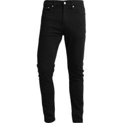 Calvin Klein Jeans 016 SKINNY Jeans Skinny Fit stay black. Czarne rurki męskie Calvin Klein Jeans, z bawełny. Za 419,00 zł.