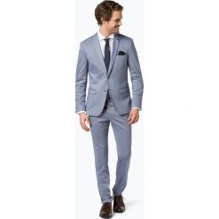 Finshley & Harding London - Garnitur męski – Mike / Hudson, niebieski. Czarne garnitury marki BIG STAR, z gumy. Za 599,95 zł.