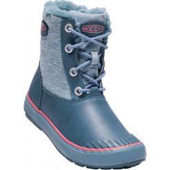 Keen Buty Zimowe Elsa Boot Wp Jr Captains Blue/Sugar Coral Us 2 (34 Eu). Niebieskie buciki niemowlęce marki Keen, na zimę, z materiału. W wyprzedaży za 249,00 zł.