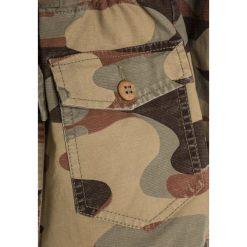 Sisley Parka multicolor. Brązowe kurtki dziewczęce Sisley, z bawełny. W wyprzedaży za 174,30 zł.