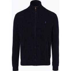 Polo Ralph Lauren - Kardigan męski z wełny merino, niebieski. Niebieskie swetry rozpinane męskie Polo Ralph Lauren, l, z dzianiny, polo. Za 899,95 zł.