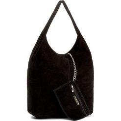 Torebka CREOLE - K10408  Czarny. Czarne torebki klasyczne damskie Creole, ze skóry. Za 139,00 zł.