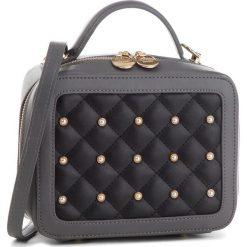 Torebka MONNARI - BAG2620-019 Grey With Black. Czarne torebki klasyczne damskie Monnari, ze skóry ekologicznej, duże. W wyprzedaży za 169,00 zł.