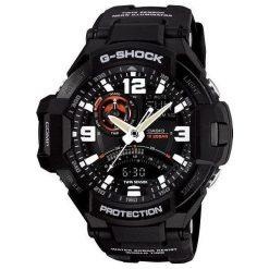 Zegarek Casio Męski GA-1000-1AER G-Shock Kompas Termometr czarny. Czarne zegarki męskie CASIO. Za 992,99 zł.