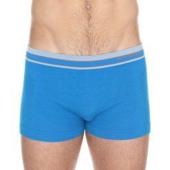 Majtki męskie: Brubeck Bokserki męskie Active Wool niebieskie r. L (BX10870)