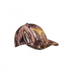 Czapka WF500LED A MLC. Czerwone czapki męskie SOLOGNAC, z bawełny. Za 59,99 zł.