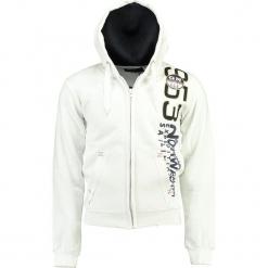 Bluza w kolorze białym. Białe bluzy męskie Geographical Norway Men, m, z nadrukiem. W wyprzedaży za 136,95 zł.