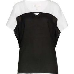 Tunika bonprix czarno-biel wełny. Czarne tuniki damskie bonprix, z wełny. Za 32,99 zł.