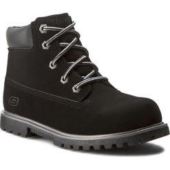 Trapery SKECHERS - Mitigate 93163L/BLK Black. Czarne buty zimowe chłopięce Skechers, z materiału, na niskim obcasie. W wyprzedaży za 169,00 zł.