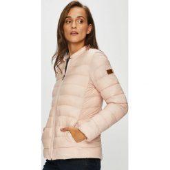 Roxy - Kurtka. Białe kurtki damskie pikowane marki Roxy, l, z nadrukiem, z materiału. Za 299,90 zł.