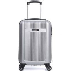 """Walizki: Walizka """"Quito-E"""" w kolorze srebrnym – 33 kg x 45 kg x 20 cm"""