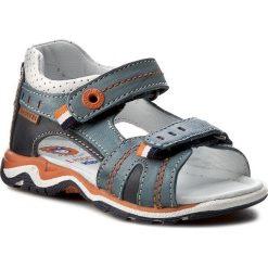 Sandały LASOCKI KIDS - CI12-2566-03A Niebieski. Niebieskie sandały męskie skórzane marki Lasocki Kids. Za 89,99 zł.