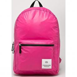 Calvin Klein Performance - Plecak. Różowe plecaki damskie Calvin Klein Performance, z nylonu. Za 349,90 zł.