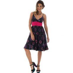 Sukienki balowe: Sukienka w kolorze czarno-różowym