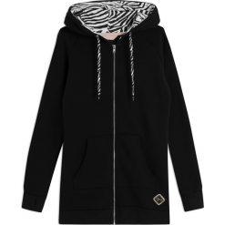 Bluzy rozpinane damskie: Bluza Naria Black