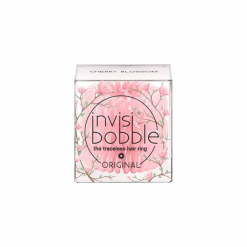 INVISIBOBBLE Gumka do włosów różowa Cherry Blossom 3 pack. Czerwone ozdoby do włosów marki INVISIBOBBLE. Za 11,87 zł.