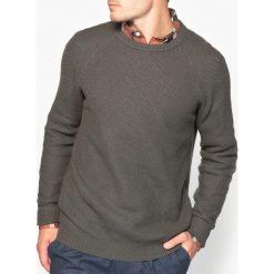 Swetry damskie: Sweter z okrągłym dekoltem, fantazyjny splot