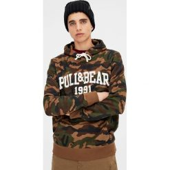 Bejsbolówki męskie: Bluza z logo pull&bear
