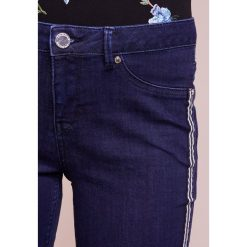 Boyfriendy damskie: 2nd Day JOLIE CROPPED TAPE Jeansy Slim Fit dark blue