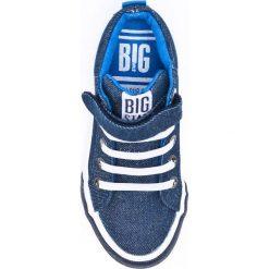 Big Star - Trampki dziecięce. Czarne tenisówki męskie marki BIG STAR, z gumy. Za 89,90 zł.