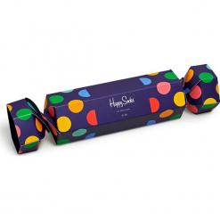 Happy Socks - Skarpety. Niebieskie skarpetki męskie Happy Socks, z bawełny. Za 69,90 zł.