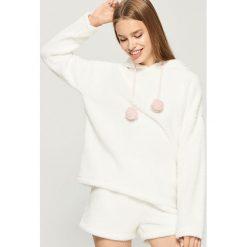 Pluszowa piżama - Kremowy. Szare piżamy damskie marki Sinsay, l, z motywem z bajki. Za 69,99 zł.