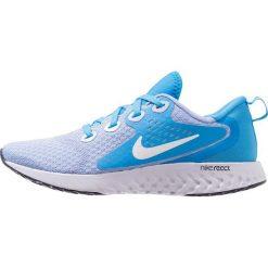 Nike Performance LEGEND REACT Obuwie do biegania treningowe aluminum/white/blue hero/football grey/blue void. Brązowe buty do biegania damskie marki N/A, w kolorowe wzory. Za 419,00 zł.