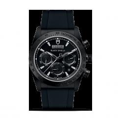 ZEGAREK TUDOR FASTRIDER BLACK SHIELD 42000CN BLACK INDEX WHITE W-RUBB. Czarne zegarki męskie TUDOR, ceramiczne. Za 20390,00 zł.