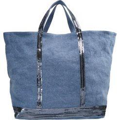 Shopper bag damskie: Vanessa Bruno Torba na zakupy bleu chine