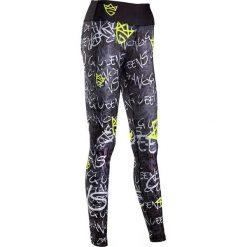 Spodnie sportowe damskie: OLIMP Spodnie damskie Olimp Graffiti czarne r. L (SGraffiti)