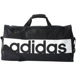 Torby podróżne: Adidas Torba Lin Per Tb L Black/Black/White L