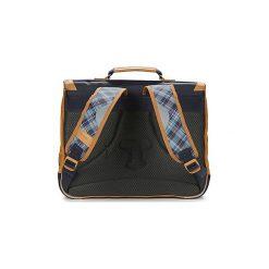 Teczki Tann's  LES BONS ENFANTS TARTAN CARTABLE 38CM. Niebieskie torebki klasyczne damskie Tann's. Za 247,20 zł.