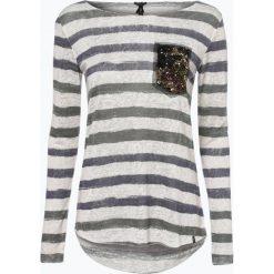 T-shirty damskie: Key Largo – Damska koszulka z długim rękawem, beżowy