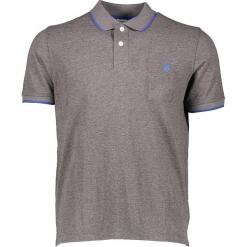Koszulka polo w kolorze szarym. Szare bluzki z odkrytymi ramionami marki U.S. Polo Assn., m, z haftami, polo. W wyprzedaży za 130,95 zł.