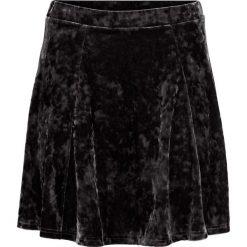 Spódniczki: Spódnica aksamitna bonprix czarny