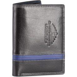 Duży Portfel Męski PETERSON - 350 BL 4-1-1 Czarny. Czarne portfele męskie marki Peterson, ze skóry. Za 129,00 zł.