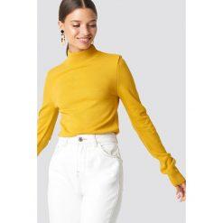 Swetry klasyczne damskie: Trendyol Sweter z półgolfem - Yellow