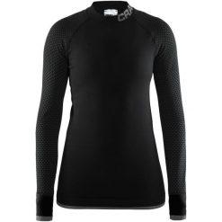 Craft Koszulka Warm Intensity, Czarna, L. Czarne bluzki sportowe damskie marki Craft, m. Za 225,00 zł.