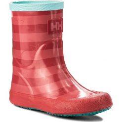 Kalosze dziewczęce: Kalosze HELLY HANSEN – Nordvik Graphic 112-17.112 Cayenne/Shell Pink/Blue Tint/Latigo Bay/Reflective